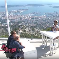 Tandem à La Grande Emission sur Var Azur TV