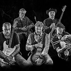 FIVE BLUESMEN + BLUES KICKERS